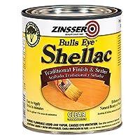 Rust-Oleum Zinsser 304H 1-Quart Bulls Eye Clear Shellac - 4 Pack