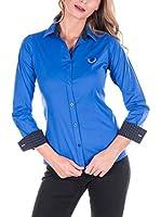 SIR RAYMOND TAILOR Camisa Mujer (Azul Tinta)