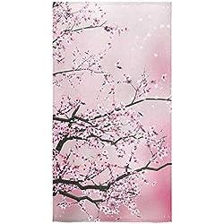 "Custom Cherry Blossom Bath Towels Beach Bathroom Shower Towel 30""x56""(One side)"