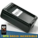 Travel Wall Charger w/ USB port for Sprint HTC Evo 4G, HTC Hero, Droid Incr ....