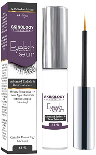 Eyelash-Growth-Serum-35-ml-BEST-Scientific-Lash-Enhancing-Treatment-for-Longer-Fuller-Eyelashes-Thicker-Eyebrows-No-Irritation-Dermatologist-Tested-Product-from-Skinology-Cosmeceuticals