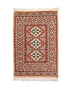 Navaei & Co. Alfombra Kashmir Rojo/Multicolor 98 x 61 cm
