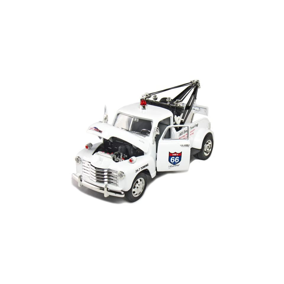 Jada Toys 1953 Chevy TowTruck (White)