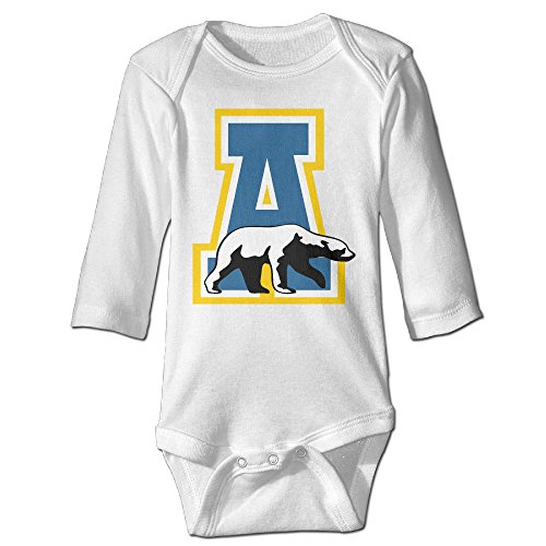 OOKOO Baby's University Of Alaska Fairbanks Bodysuits White 18 Months