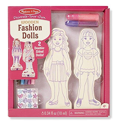 Melissa & Doug DYO Fashion Dolls