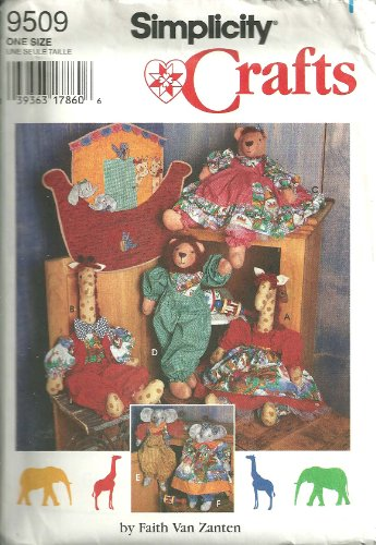 Simplicity Crafts Pattern 9509 ~ Noah's Ark Wallhanging, 18