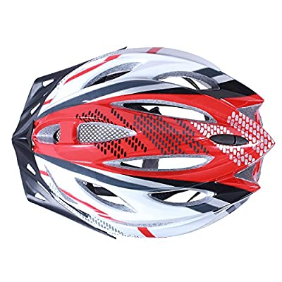 Cycling Bike Helmet, Augymer Mountain Bicycle Racing Helmet with LED Light Safety Protective for Adult Men & Women, Teen Boys & Girls by HIAugymer