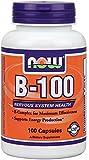 NOW Foods B-100 Caps, 100 Capsules