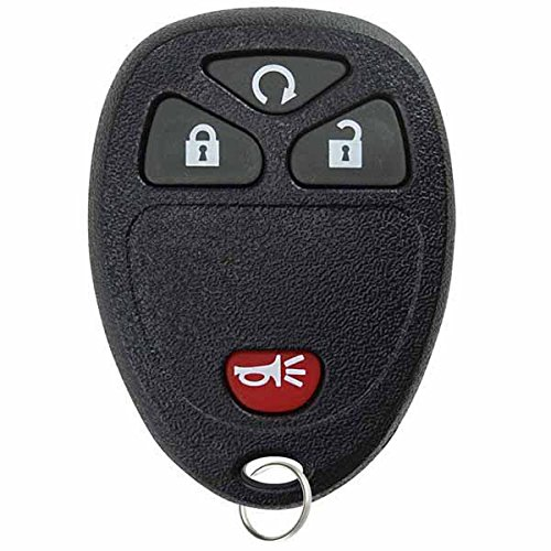 KeylessOption Keyless Entry Remote Control Car Key Fob Replacement 15913421 (07 Chevy Silverado Remote Start compare prices)