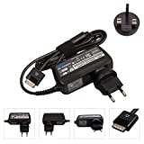 (3-5 Days Arrive!!!)Tomeasy® 19V 1.58A DELL Charger Power Supply AC Adapter For DELL Latitude 10 ST, ST2 ST2e Streak 10 Pro T03G T03G001 DELL XPS 10,Liteon PA-1300-04 D28MD Tablet,30W DELL PSU - 40Pin,With UK & EU Plug