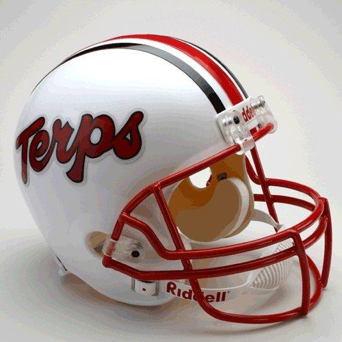 Maryland Terrapins Deluxe Replica Helmet - College Replica Helmets