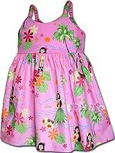 Hula Dance Hawaiian Dress - Girls Hawaiian Dress - Aloha Dress - Hawaiian