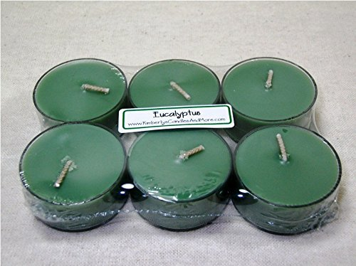 Eucalyptus PURE SOY Tea Light Candles (Candle Warmers Non Electric compare prices)
