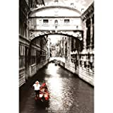 Venice, Italy Bridge of Sighs Scenic Black & White Poster Poster Print, 24x36 Collections Poster Print, 24x36 Poster Print, 24x36