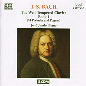 Bach, J.S.: Well-Tempered Clavier (The), Book 1