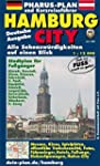 Pharus-Plan Hamburg City: Alle Sehens...