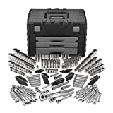 51kJBVE0GgL. SL160  Craftsman 260 pc. Mechanics Tool Set with 3 Drawer Flip Top Blow Mold Chest