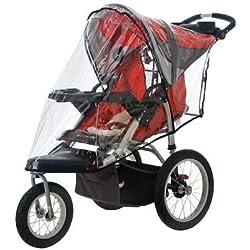 Weather Shield Single for Swivel Wheel Jogger/Stroller