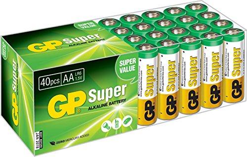 GP-LR06-Mignon-AA-Super-Alkaline-40-er-Pack