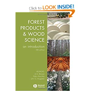 Forest Products and Wood Science - James L. Bowyer