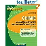 Chimie au concours d'entrée Masseur-Kinésithérap... - 2e éd.