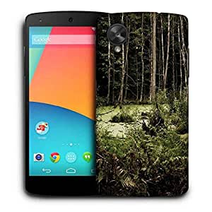 Snoogg Broken Forest Printed Protective Phone Back Case Cover For LG Google Nexus 5