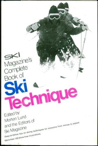 Ski magazine's complete book of ski technique PDF