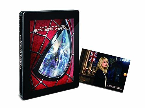 【Amazon.co.jp限定】アメイジング・スパイダーマン2TM スチールブック仕様 (エマ・ストーンポストカード付) [Steelbook] [Blu-ray]