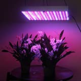 LEDwholesalers 2501MX Blue/Red 225 LED 13.8 Watt Square Grow Light Panel 110 Volt