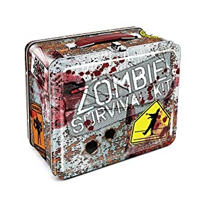 Amazon.com: (7x8) Zombie Survival Kit Metal Lunchbox: Home & Kitchen