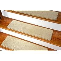 Dean Ultra Premium Stair Gripper Non-Slip Tape Free Pet Friendly DIY Satin Soft Nylon Carpet Stair Treads/Rugs 30