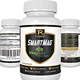 Best Magnesium Threonate - Patented Magtein Supplement - Triple Strength Formula W/ Taurate and Glycinate | Improve Memory, Brain Function, Sleep, and Heart Health - 90 Vegetarian Capsules