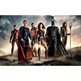 Justice League 2017 Movie ON FINE ART PAPER HD QUALITY WALLPAPER POSTER