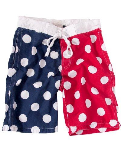 Swimwear mens swimming trunks dot polka dot swimwear M CrazyD