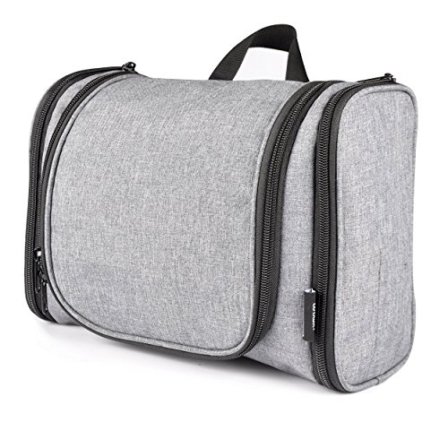 luyada-hanging-toiletry-bag-cosmetic-makeup-shaving-dopp-kit-travel-organizer-grey