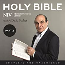 Complete NIV Audio Bible: Volume 2: Prophets, Gospels, Acts and Letters Audiobook by New International Version Narrated by David Suchet