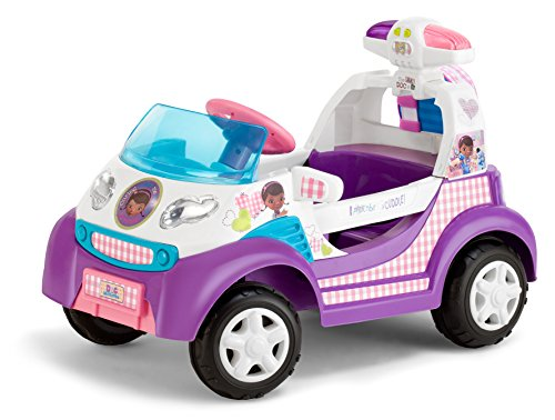 Kid Trax Doc McStuffins 6V Ambulance Ride On (Doc Mcstuffins Toy Box compare prices)