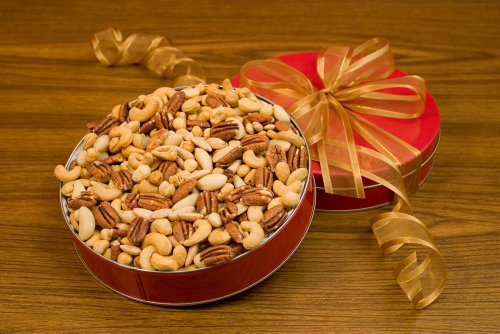 32oz Superior Mixed Nuts Gift Tin (Unsalted) superior evolution 2873 32 2