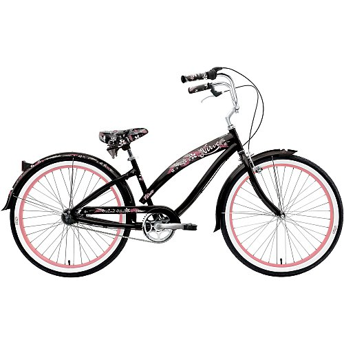 Nirve Island Flower 26 3-Speed Women's Cruiser Bicycle