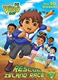 img - for Rescue Island Race (Go, Diego, Go!) (Stickerific) book / textbook / text book