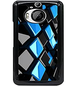 ColourCraft Abstract image Design Back Case Cover for HTC ONE M9 PLUS