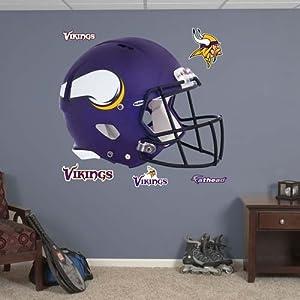 NFL Revolution Helmet Wall Decal NFL Team: Minnesota Vikings by Fathead