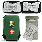 Prep Trust Emergency First Aid Israeli Battle Dressing Compression Bandage, (2 Pack 6 Inch with Case)
