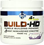 BPI Sports Build-HD Diet Supplement, Grape, 0.5 Pound