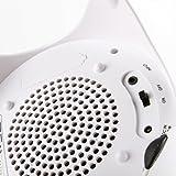 Amethyst Innovations ET3-BT71WH Bluetooth Ghost Speaker White