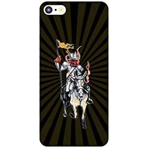 Apple iPhone 5C Phone Cover -Horse Ride Matte Finish Phone Cover