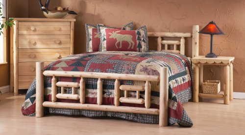 DELUXE LOG BED-TWIN