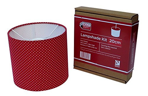 bausatz zur dekoration mit lampenschirm durchmesser 20cm zum h ngen oder f r die stehlampe. Black Bedroom Furniture Sets. Home Design Ideas
