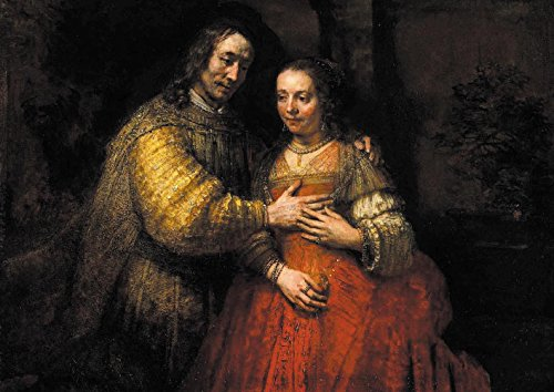 【DXポスター】レンフ?ラント・ファン・レインのアートポスター Rembrandt van Rijn A3 P-A3-FIN-REMB-0001