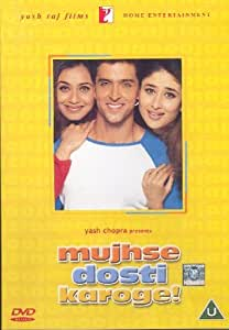 Mujhse Dosti Karoge [Blu-ray] (Bollywood Movie / Indian Cinema / Hindi Film)